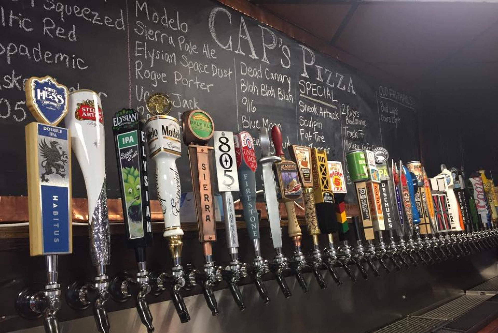 CAPs Pizza and Tap House